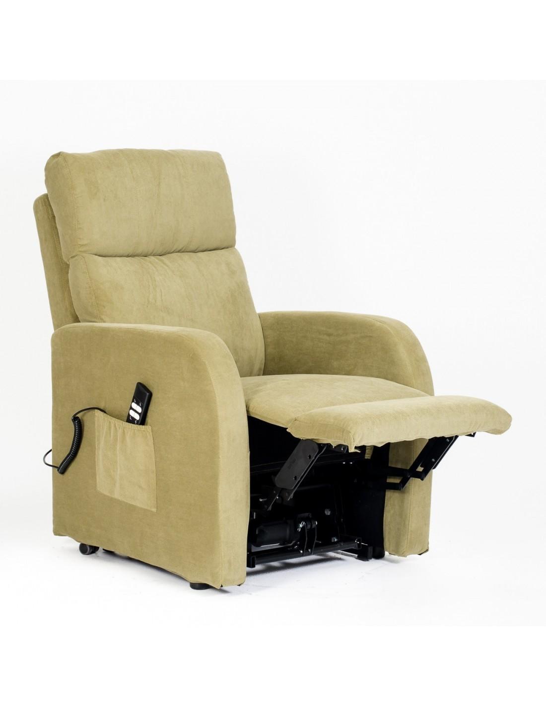 Relax Anziani Lift Sicurezza CE Medicale DETRAIBILE 19/% SIME POLTRONE Poltrona elevabile elettrica reclinabile Betty-1M-TABRO Marrone antimacchia micromolle No Montaggio