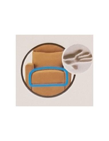 Cojín de asiento en memory 3cm